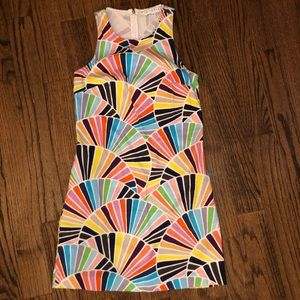 TRINA TURK SIZE 2 multicolor dress